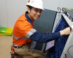 BLACKBIRD Technology supplied tech on site deployment.